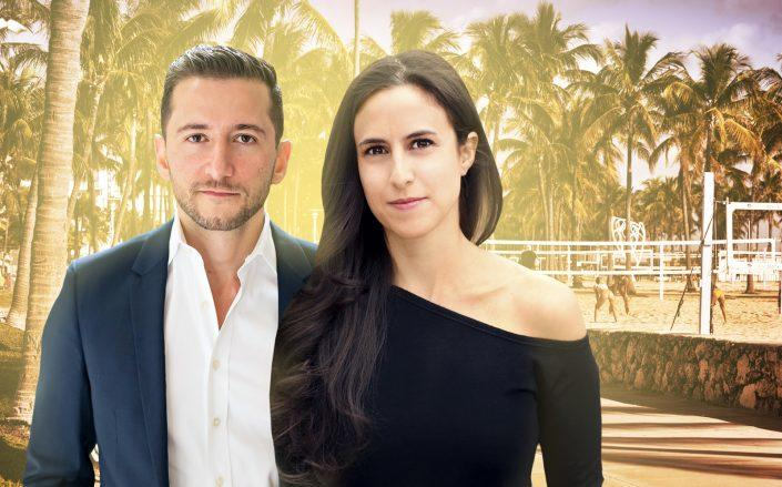 Ruthie and Ethan Assouline lead Compass' Assouline Team. (The Assouline Team, iStock)