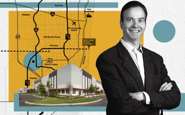 Terreno Realty CEO W. Blake Baird and Countyline Corporate Park