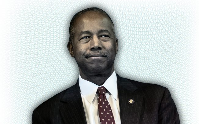 Secretary of the Department of Housing and Urban Development Ben Carson (Credit: Getty Images and iStock)