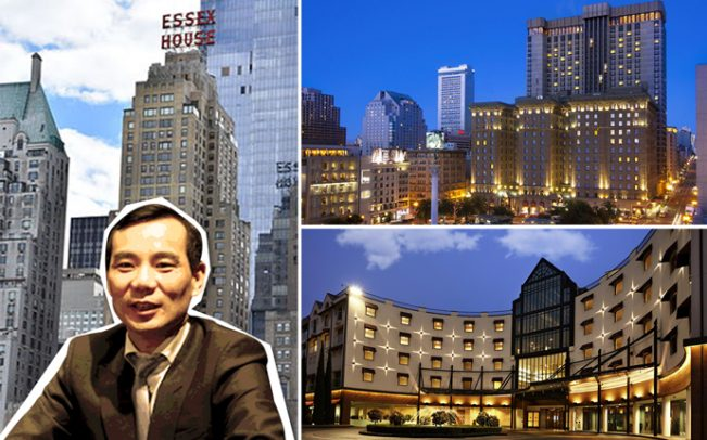 Anbang former Chairman, Wu Xiaohui and some of the properties