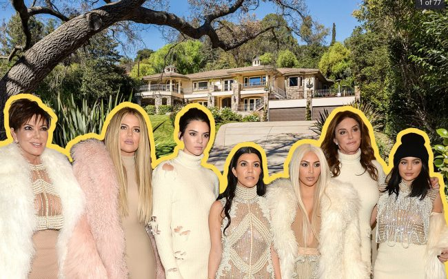 """The Studio City house that stood in for Kris Jenner's home on """"Keeping Up With The Kardashians"""" is back on the market (Photos via Zillow; Getty)"""