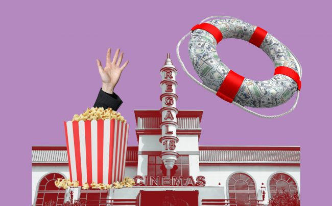 The second largest cinema operator in the US is looking for a financial lifeline (iStock)