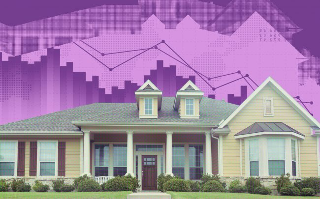 Total supply of family houses fell by 40 percent to 3.3 months in October (iStock)