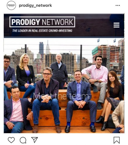 An image of Prodigy's original team in 2014, with Rodrigo Niño and Larry Davis, center (Source: Instagram).