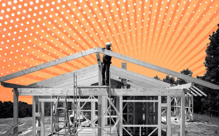 Overall, the number of housing units that started construction last year was up 7 percent from 2019. (iStock)