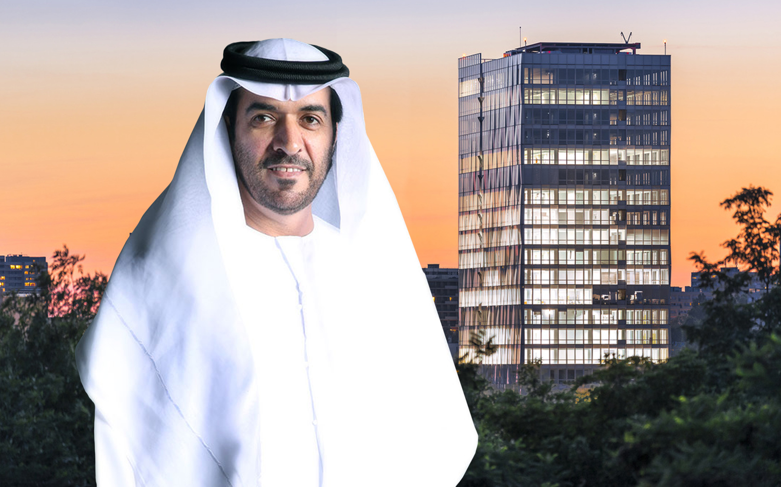 HE Mohammed, the chairman of Islamic investment in the Persian Gulf, broke Alnasri with the Altais Towers in Paris.  (GII, Reichen Et Robert & Associés)
