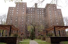 The Riverton apartments in Harlem