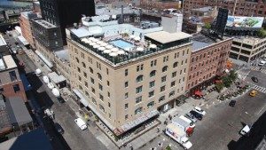 A view of the Meatpacking District
