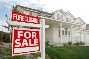 A foreclosed home