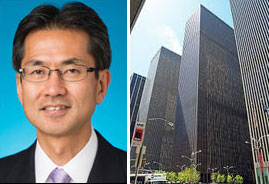 Rockefeller Development Group CEO Atsushi Nakajima and 1221 Sixth Avenue