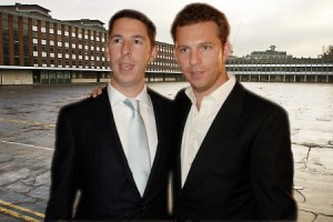 From left: Christian Candy and Nick Candy