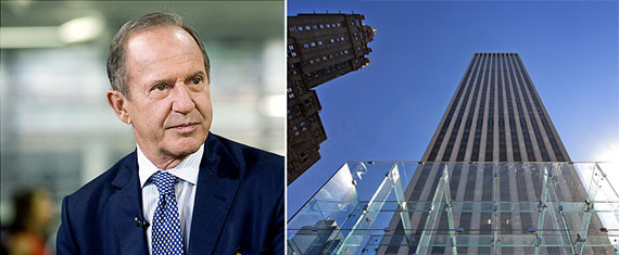 Mort Zuckerman and the GM Building at 767 Fifth Avenue