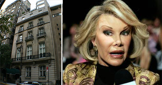 1 East 62nd Street and Joan Rivers