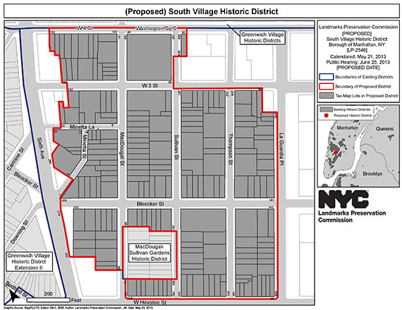 Proposed South Village Historic Distric