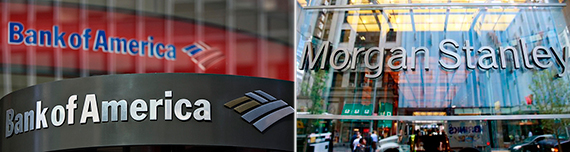 Bank of America and Morgan Stanley
