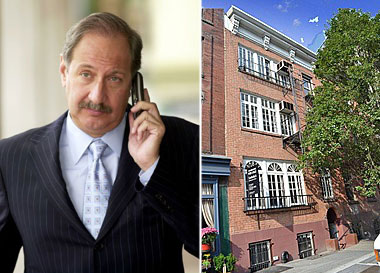 From left: Mark Geragos and 107 Greenwich Avenue