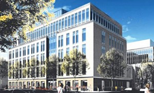 A rendering of the New York Methodist Hospital at 506 6th Street in Park Slope