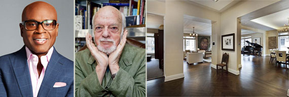 From left: L.A. Reid, Harold Prince and the unit at 515 Park Avenue