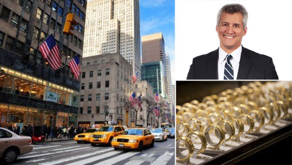Clockwise from left: Fifth Avenue, Joseph Isa and jewelry made by  Lao Feng Xiang