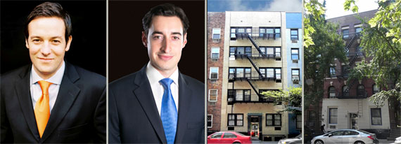 From left: Peter Von Der Ahe, Joe Koicim, 518 East 88th Street and 234 East 88th Street