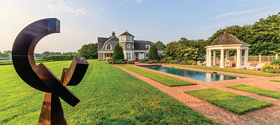 A 4.6-acre plot in Water Mill by  Robert A.M. Stern