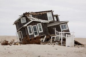 Sandy-damaged home in Mantoloking, New Jersey (Credit: Shutterstock)