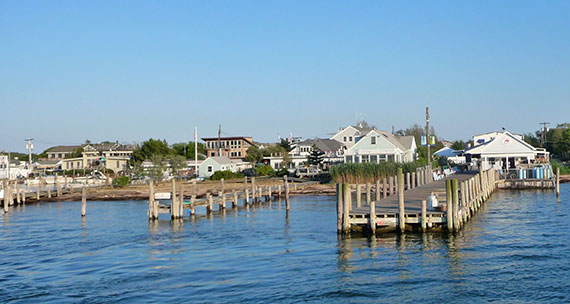 Homes in Kismet, Fire Island