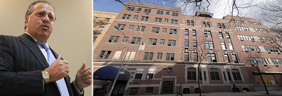 From left: Joseph Chetrit and 416 West 52nd Street