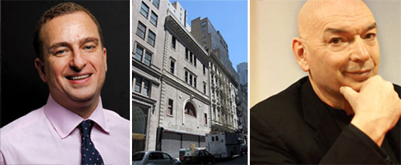 From left: Sharif El-Gamal, 51 Park Place (center) and Jean Nouvel