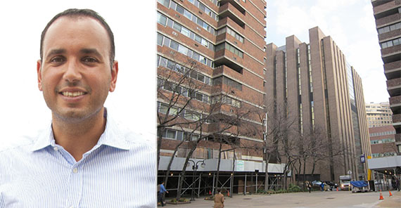 From left: Ben Shaoul and 340 East 24th Street