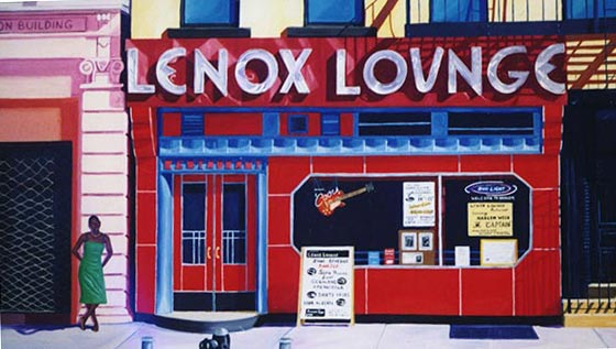 An image of the former location of Lenox Lounge