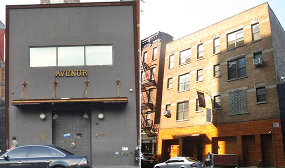 From left: 116 10th Avenue and
