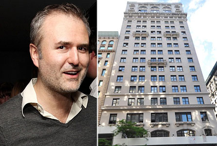From left: Gawker's Nick Denton and 114 Fifth Avenue