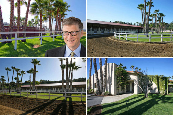 Bill Gate's new equestrian estate in California