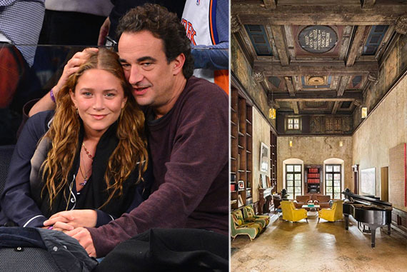 From left: Mary-Kate Olsen and Olivier Sarkozy and 226 East 49th Street