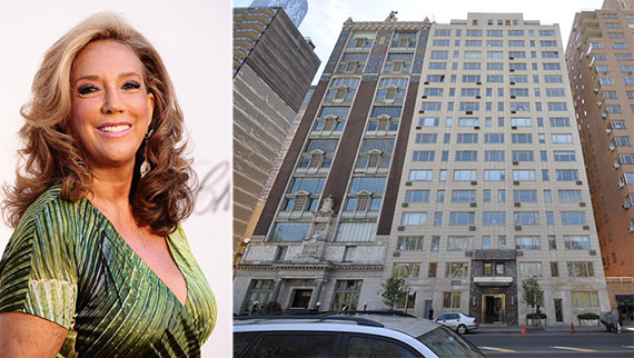 From left: Denise Rich and 230 Central Park South