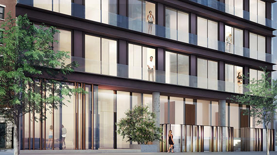 Front facade of 155 Attorney Street (Credit: Studio V Architecture)
