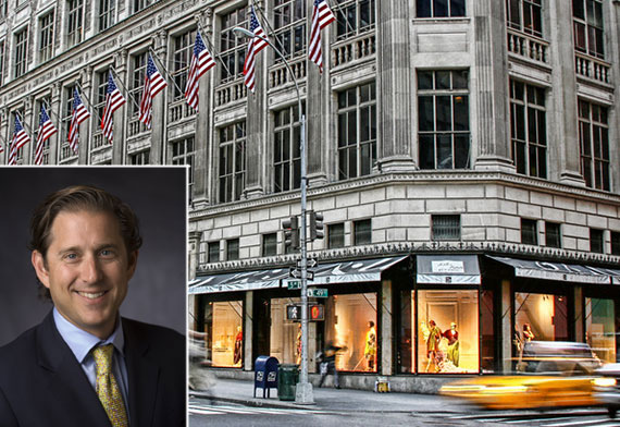 Saks Fifth Avenue flagship store and Hudson's Bay CEO Richard Baker