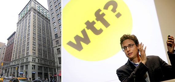 From left: 225 Park Avenue South and Jonah Peretti