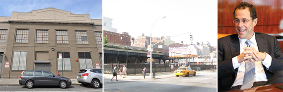 From left: 511 West 18th Street and 131 10th Avenue in Chelsea, and Related's Jeff Blau (credit: Chris Martin)