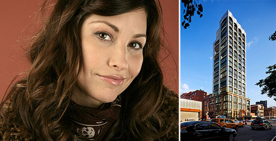 From left: Gina Gershon and 200 11th Avenue