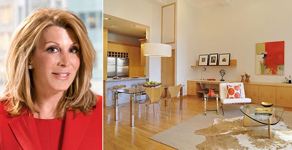 From left: Elliman's Dottie Herman and a one-bedroom at 120 East 87th Street asking $1.75 million
