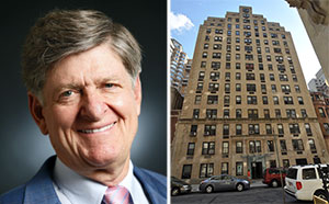 From left: Aimco CEO Terry Considine and 240 West 73rd Street