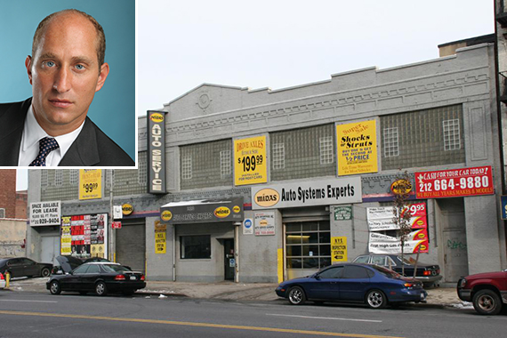 213-223 East 125th Street in East Harlem (inset: Adam Leitman Bailey)