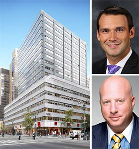 Clockwise from left: 711 Third Avenue, Kirill Azovtsev and Scott Panzer