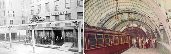 Historic images of the NYC subway