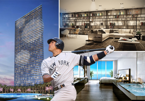 Renderings of GranParaiso and Alex Rodriguez (Credit: Keith Allison) - See more at: https://therealdeal.com/miami/blog/2015/09/26/a-rod-scores-edgewater-penthouse/#sthash.xxQ1AljT.dpuf