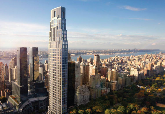 Supertall Skyscrapers New York 432 Park Billionaires Row
