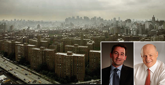 Stuyvesant Town, Jonathan Gray of Blackstone and Daniel Fournier of Ivanhoe Cambridge