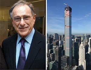 From left: Harry Macklowe and 432 Park Avenue in Midtown